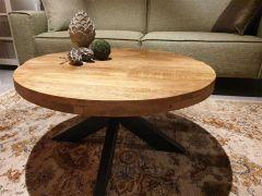 Mango salontafel rond Diamond 80cm