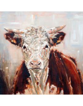 Alu Art Weijers Hereford Koe