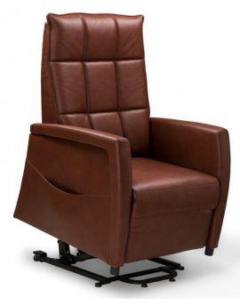 Relax sta-op fauteuil Almelo M Leder