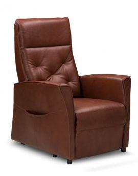 Relax sta-op fauteuil Hengelo M Leder