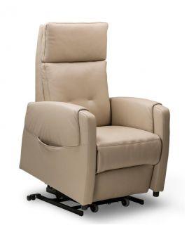 Relax sta-op fauteuil Haarlem M microvezelstof