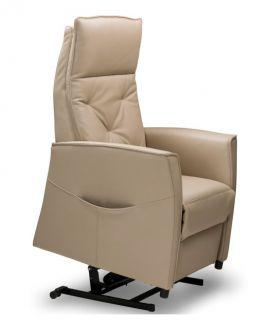 Relax sta-op fauteuil Emmen M Microvezelstof