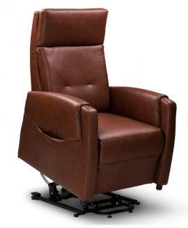 Relax sta-op fauteuil Enschede M Leder