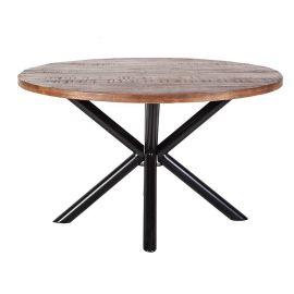 Eettafel Mango 130cm rond 22830